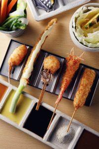 串かつ料理 活の料理1
