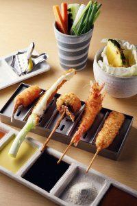 串かつ料理 活の料理3