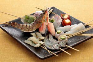串かつ料理 活の魚介串