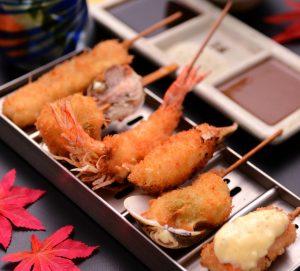 串かつ料理 活の季節串