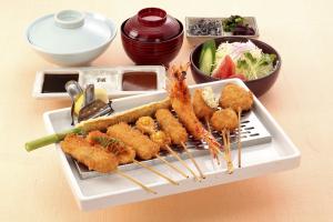 串かつ料理 活のお料理