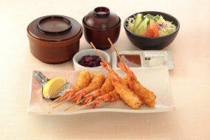 串かつ料理 活の海老御膳