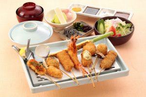 串かつ料理 活の旬彩御膳